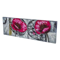 Essential Designs ''Jumbo Flowers'' Canvas Wall Art