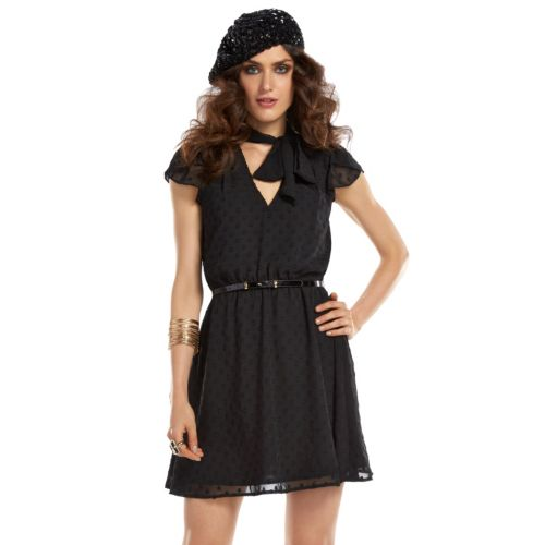 ELLE? 70th Anniversary Collection 1970s Dot Fit & Flare Dress - Women's