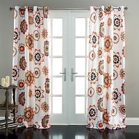 Lush Decor Adrianne Room Darkening Curtain Pair - 52'' x 84''