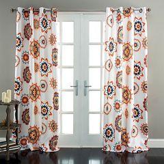 Lush Decor Adrianne Room Darkening Window Curtain Pair - 52'' x 84''