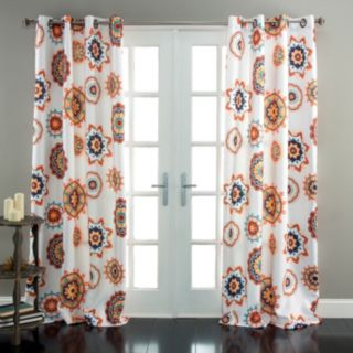 Lush Decor Adrianne Room Darkening Window Curtain Pair - 52'' x 84''