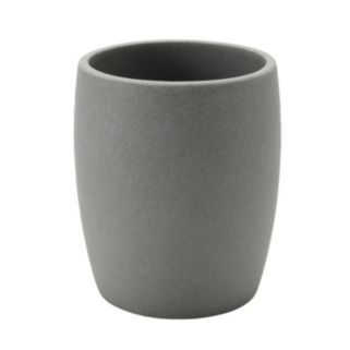 Home Classics® Gray Resin Wastebasket
