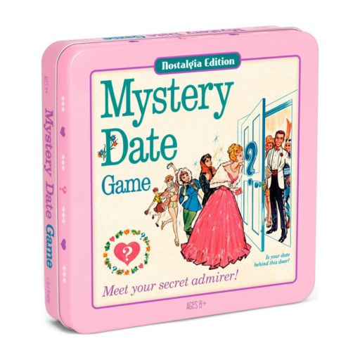 Winning Solutions Mystery Date Board Game with Nostalgia Edition Game Tin
