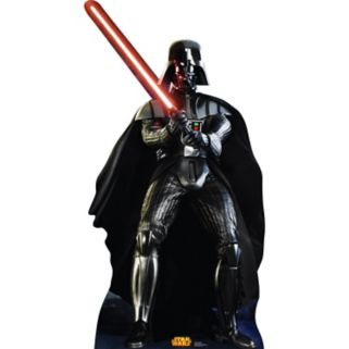Star Wars Darth Vader Retouched Cardboard Cutout by Advanced Graphics