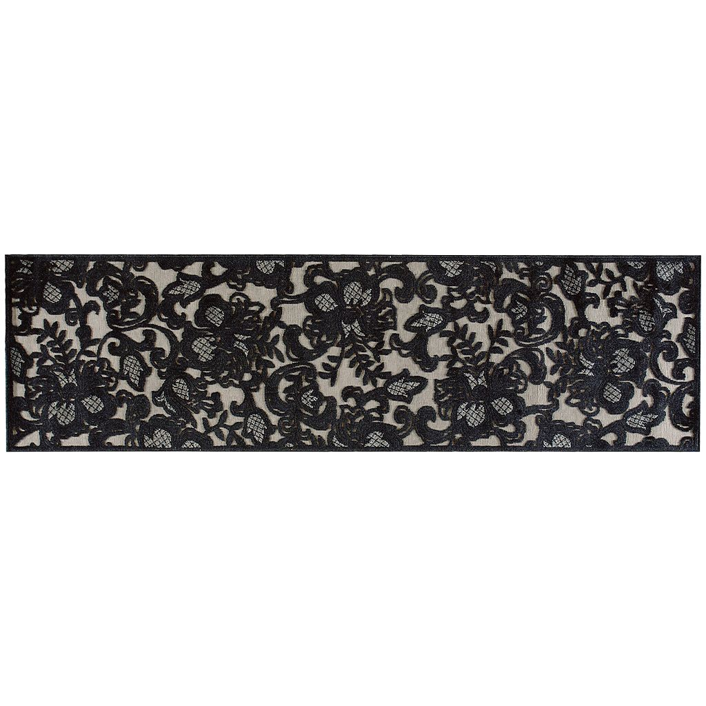 Nourison Graphic Illusions Floral Rug