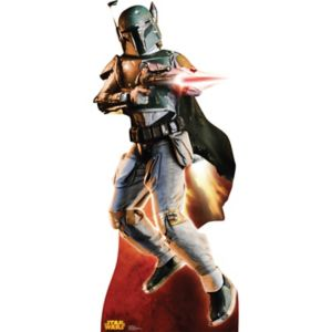 Star Wars Boba Fett Retouched Cardboard Cutout by Advanced Graphics