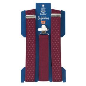 Wembley Pindot Stretch Suspenders - Men