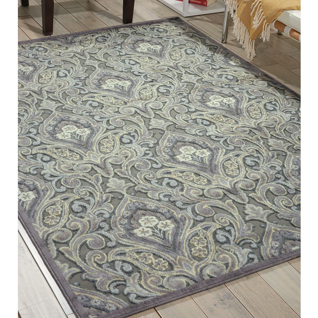 Nourison Graphic Illusions Scroll Rug