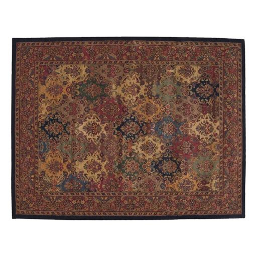 Nourison India House Floral Wool Rug