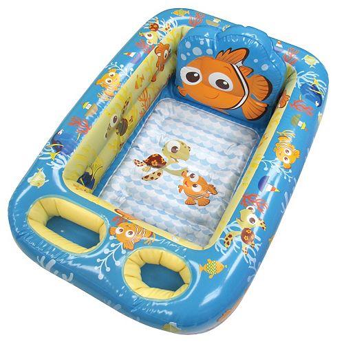 disney pixar finding nemo inflatable bath tub