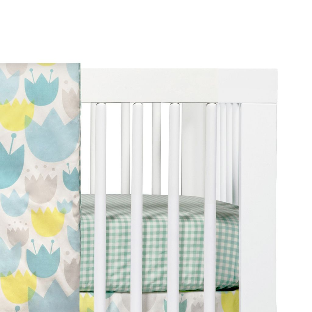 Babyletto Tulip Garden Fitted Crib Sheet