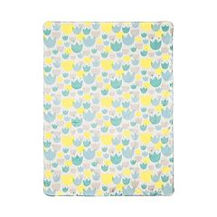 Babyletto Tulip Garden Reversible Blanket by