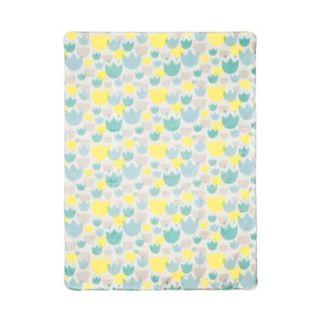 Babyletto Tulip Garden Reversible Blanket