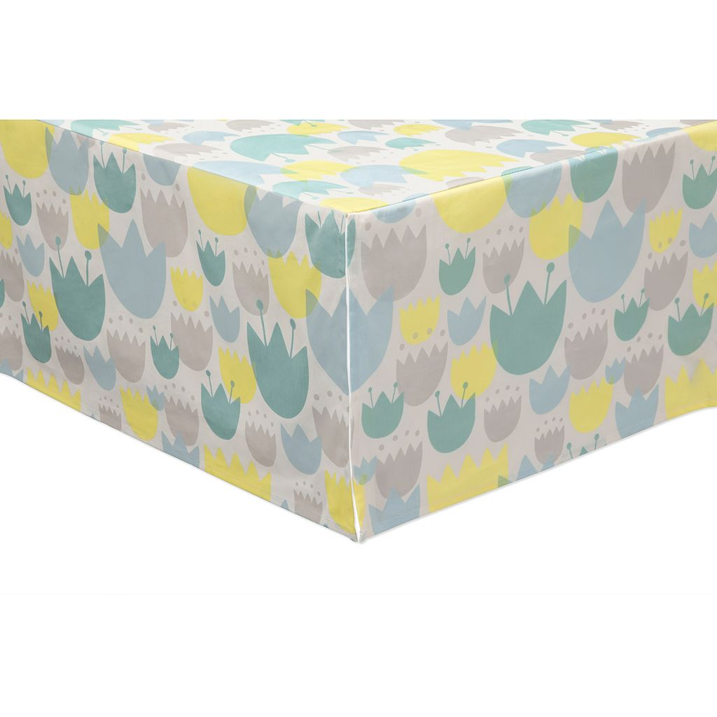 Babyletto Tulip Garden 5-pc. Crib Bedding Set