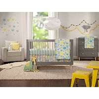 Babyletto Tulip Garden 6 pc Crib Bedding Set