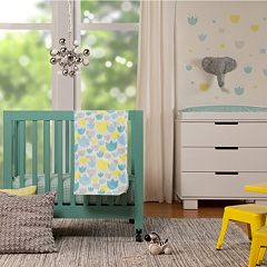 Babyletto 4 pc Tulip Garden Mini Crib Set