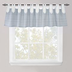 Park B. Smith Nordic Bands Chambray Straight Window Valance - 60'' x 14''