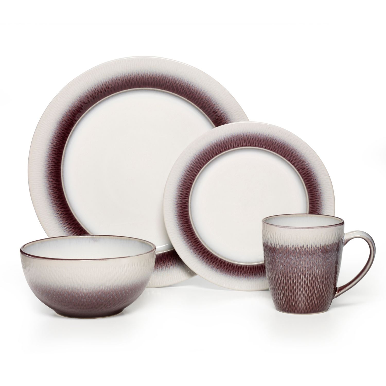 Pfaltzgraff Eclipse Plum 16-pc. Dinnerware Set  sc 1 st  Kohl\u0027s & Purple Dinnerware \u0026 Serveware Kitchen \u0026 Dining | Kohl\u0027s