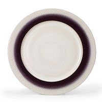 Pfaltzgraff Eclipse Plum 12-in. Round Serving Platter