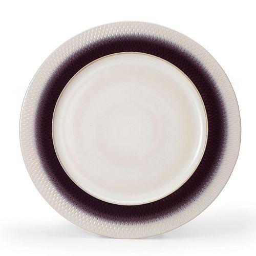 Pfaltzgraff Eclipse Plum 12-in. Round Serving Platter