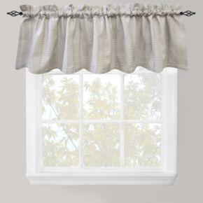 Park B. Smith Eyelet Chambray Straight Window Valance - 60'' x 14''