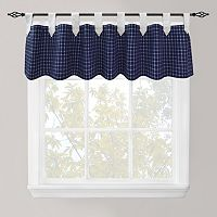 Park B. Smith Picnic Check Straight Window Valance - 60'' x 14''