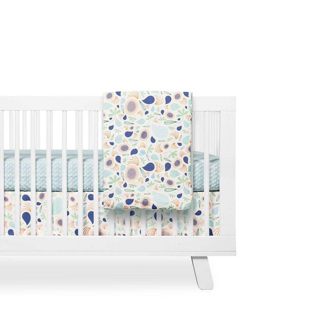 Babyletto Fleeting Flora 2-in-1 Play & Baby Blanket