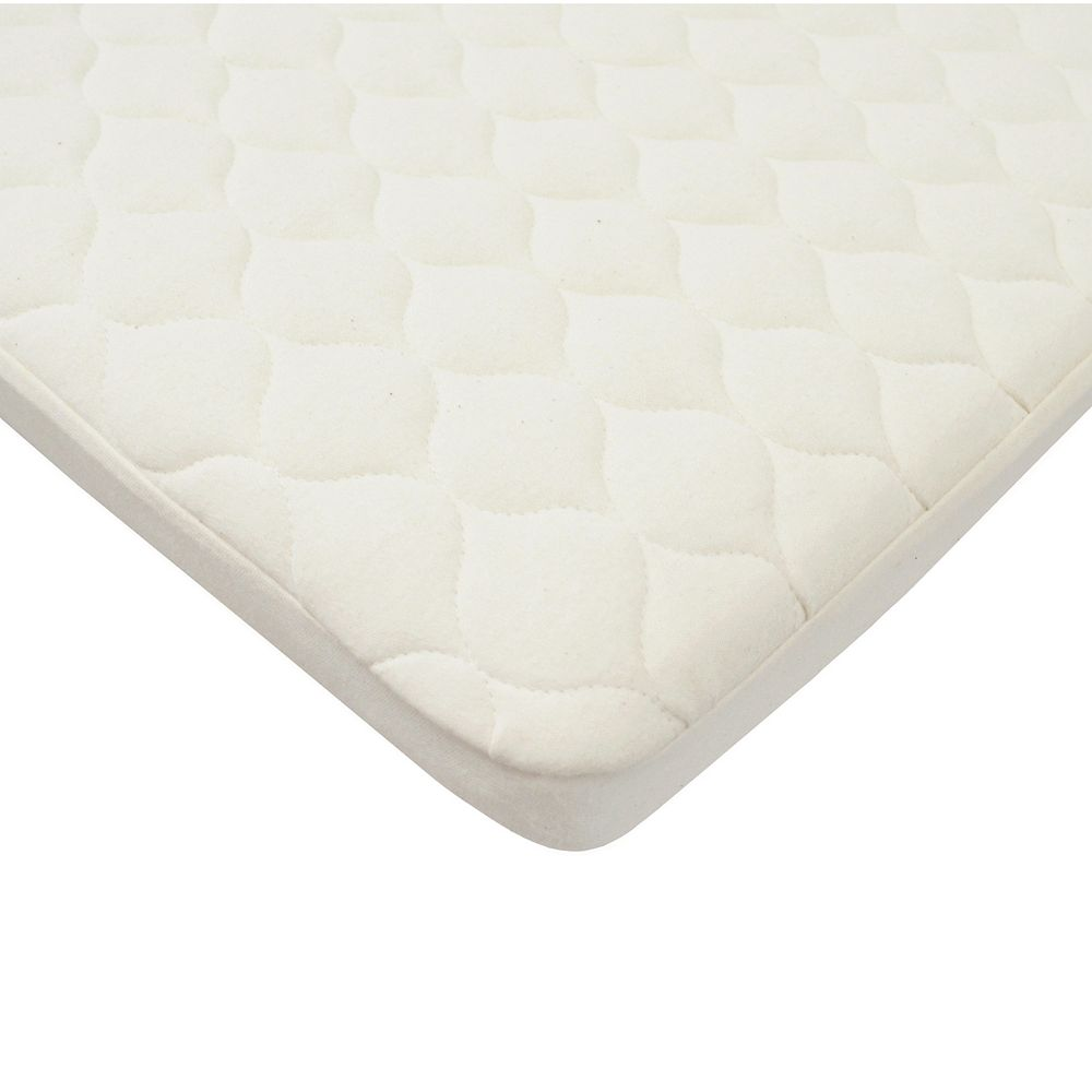 TL Care Organic Quilted Waterproof Fitted Playard Mattress Pad