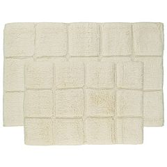 Madison Cable Square 2 pc Rug Set