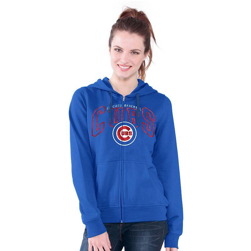 Chicago Cubs Wildcat Fleece Hoodie - Women's