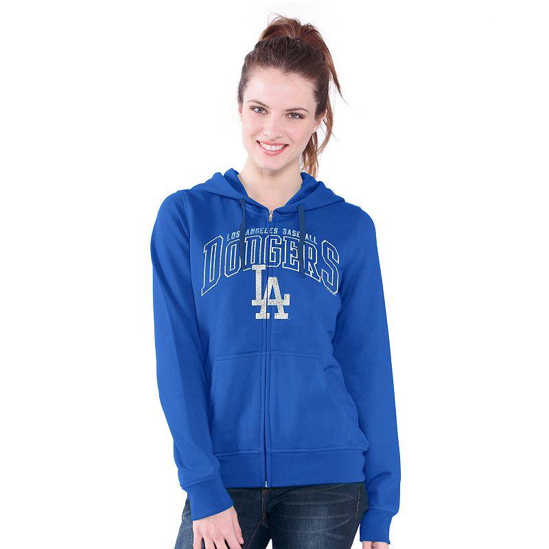 Los Angeles Dodgers Wildcat Fleece Hoodie - Women's