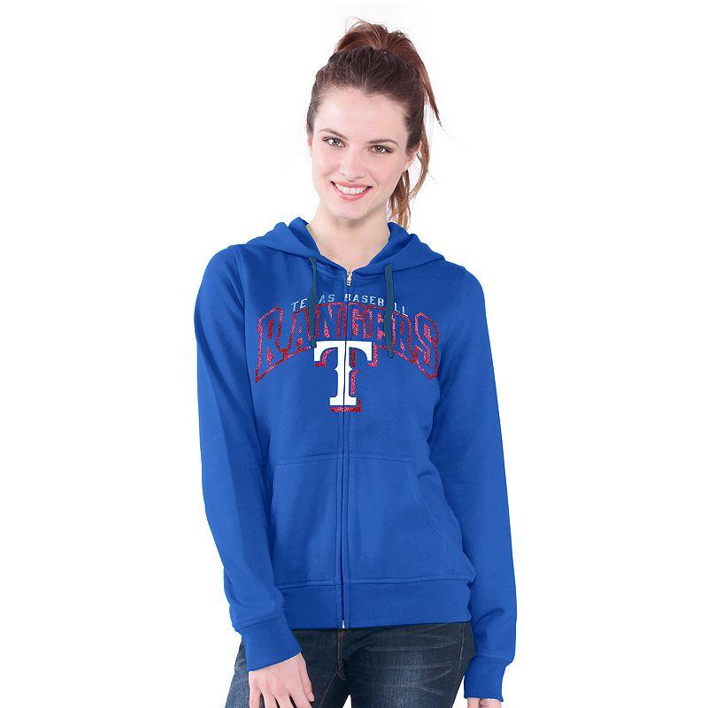 Texas Rangers Wildcat Fleece Hoodie - Women's