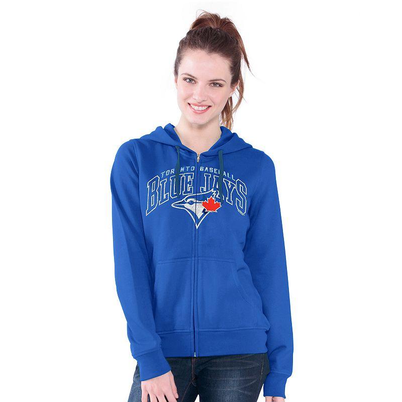 Toronto Blue Jays Wildcat Fleece Hoodie - Women's