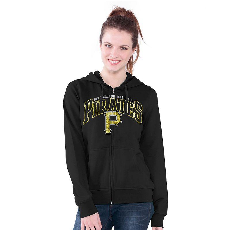 Pittsburgh Pirates Wildcat Fleece Hoodie - Women's
