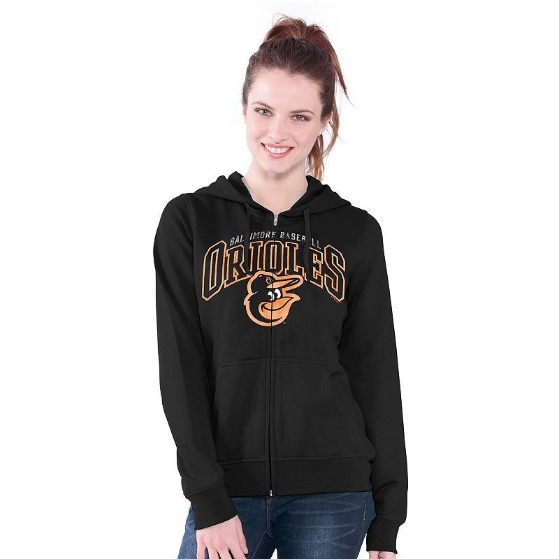 Baltimore Orioles Wildcat Fleece Hoodie - Women's
