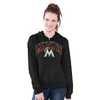 Women's Miami Marlins Wildcat Fleece Hoodie