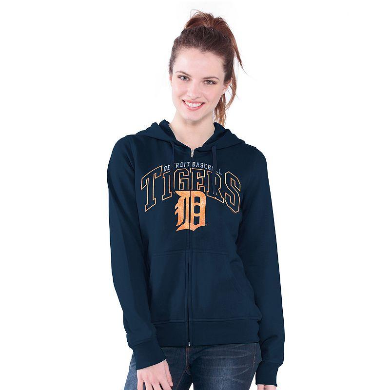 Detroit Tigers Wildcat Fleece Hoodie - Women's