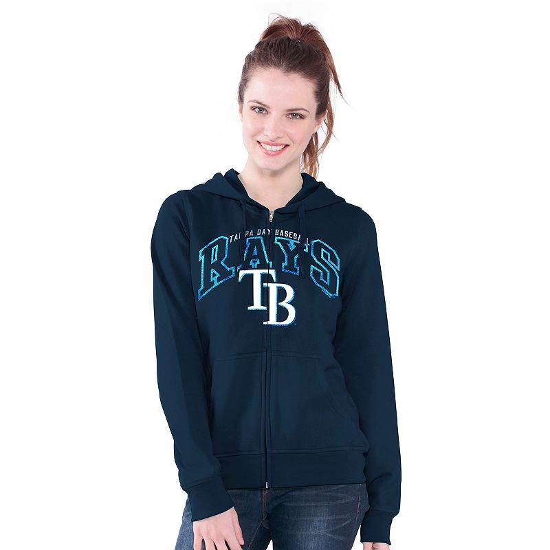 Tampa Bay Rays Wildcat Fleece Hoodie - Women's