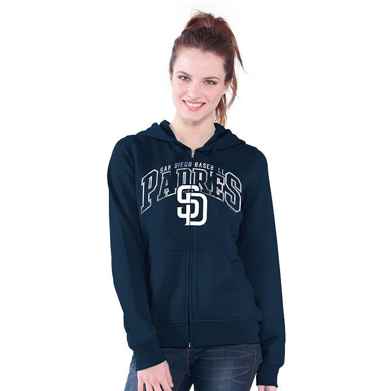 San Diego Padres Wildcat Fleece Hoodie - Women's