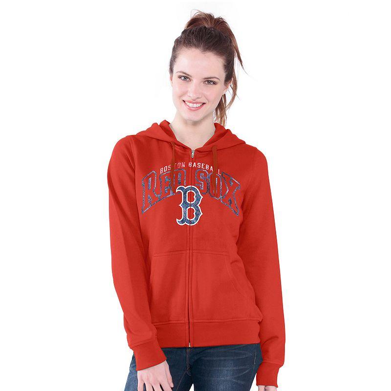Boston Red Sox Wildcat Fleece Hoodie - Women's