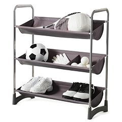 Neatfreak Garage Sport 3 Tier Stackable Multi Purpose Storage Shelf