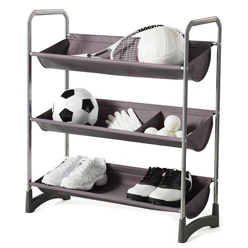 neatfreak Garage Sport 3-Tier Stackable Multi-Purpose Storage Shelf