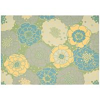 Nourison Home & Garden Floral II Indoor Outdoor Rug