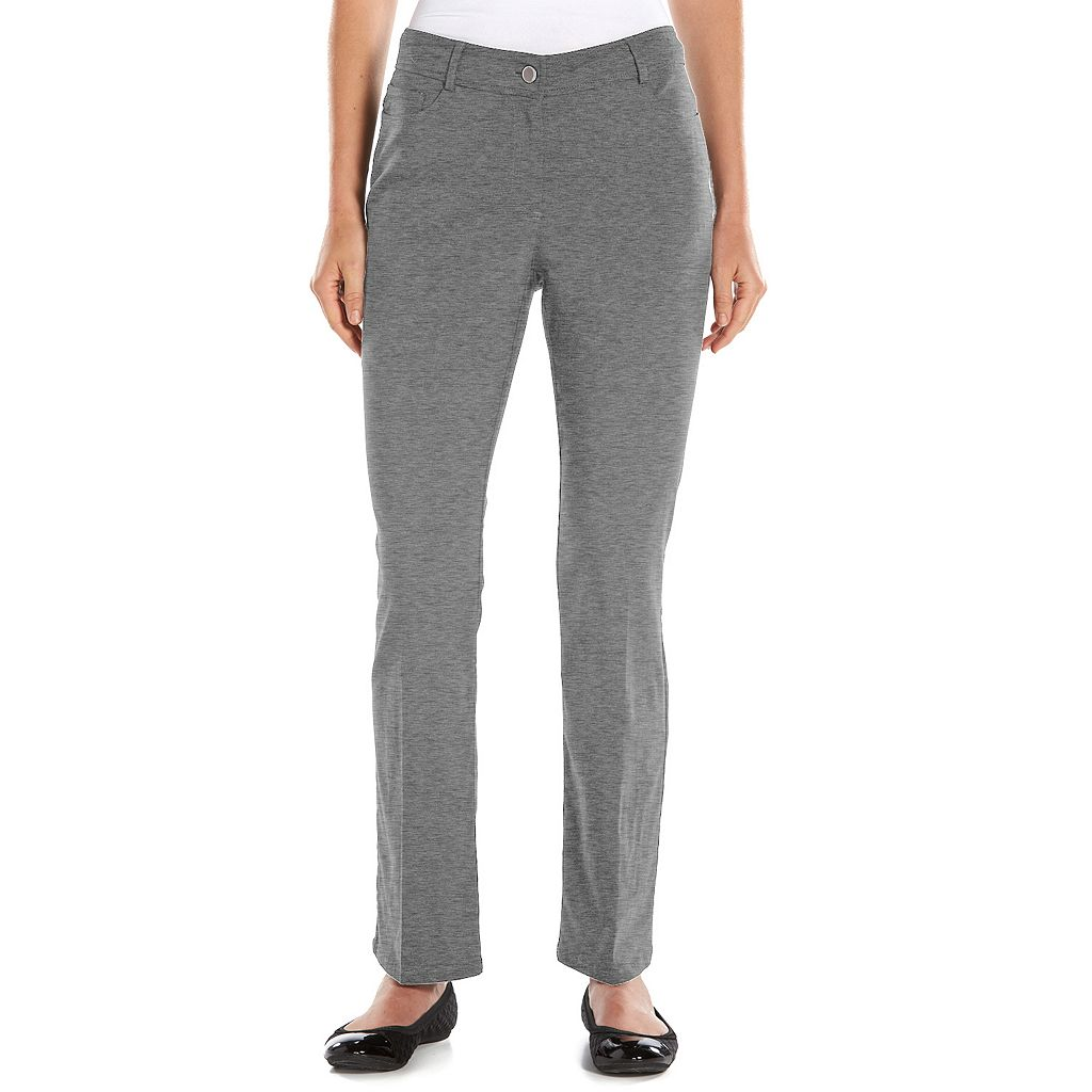 Dana Buchman Millennium Modern Fit Tapered Dress Pants - Women's