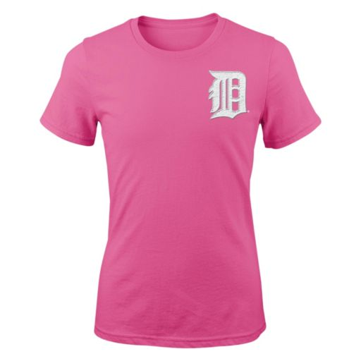 Girls 7-16 Majestic Detroit Tigers David Price Player Name and Number Tee