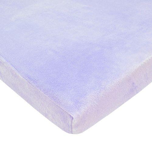 TL Care Soft Chenille Mini Crib Sheet