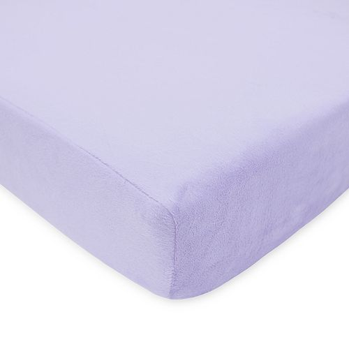 TL Care Heavenly Soft Chenille Crib Sheet