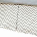 TL Care Pleated Tailored Bed Skirt