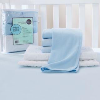 TL Care 6-pc. Mini Crib Starter Kit
