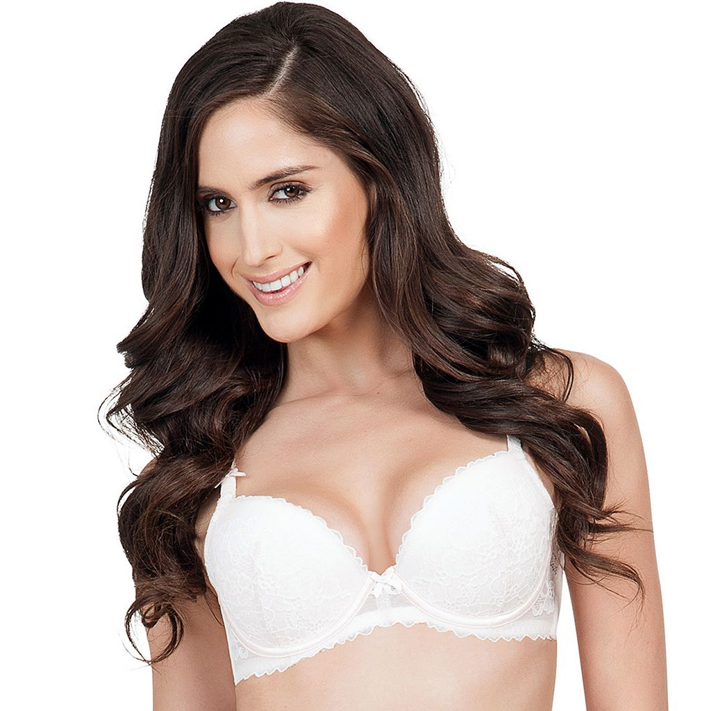 Affinitas Bra: Alexa Lace Push-Up Bra A11011 - Women's